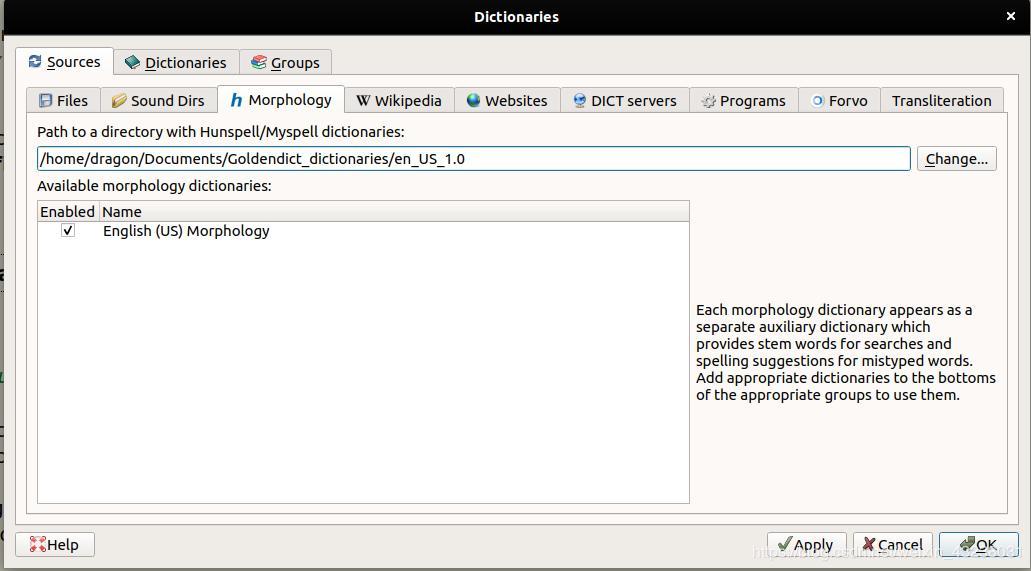 Ubuntu18 04 GoldenDict installation and configuration - Programmer