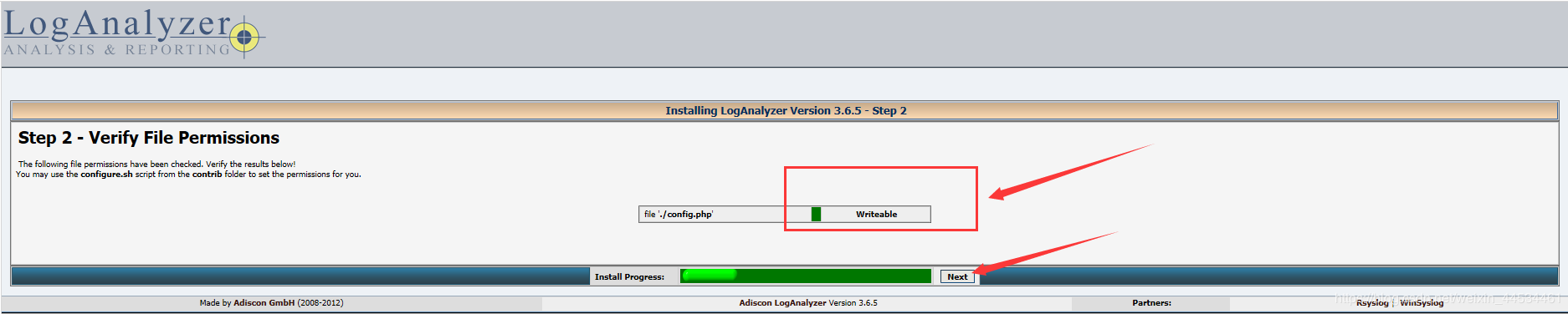 Centos7 build log server rsyslog+loganalyzer - Programmer Sought