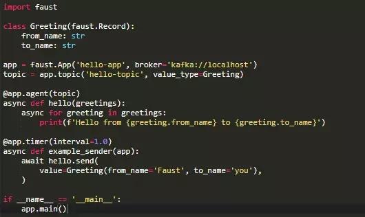 Python stream processing Python - Programmer Sought