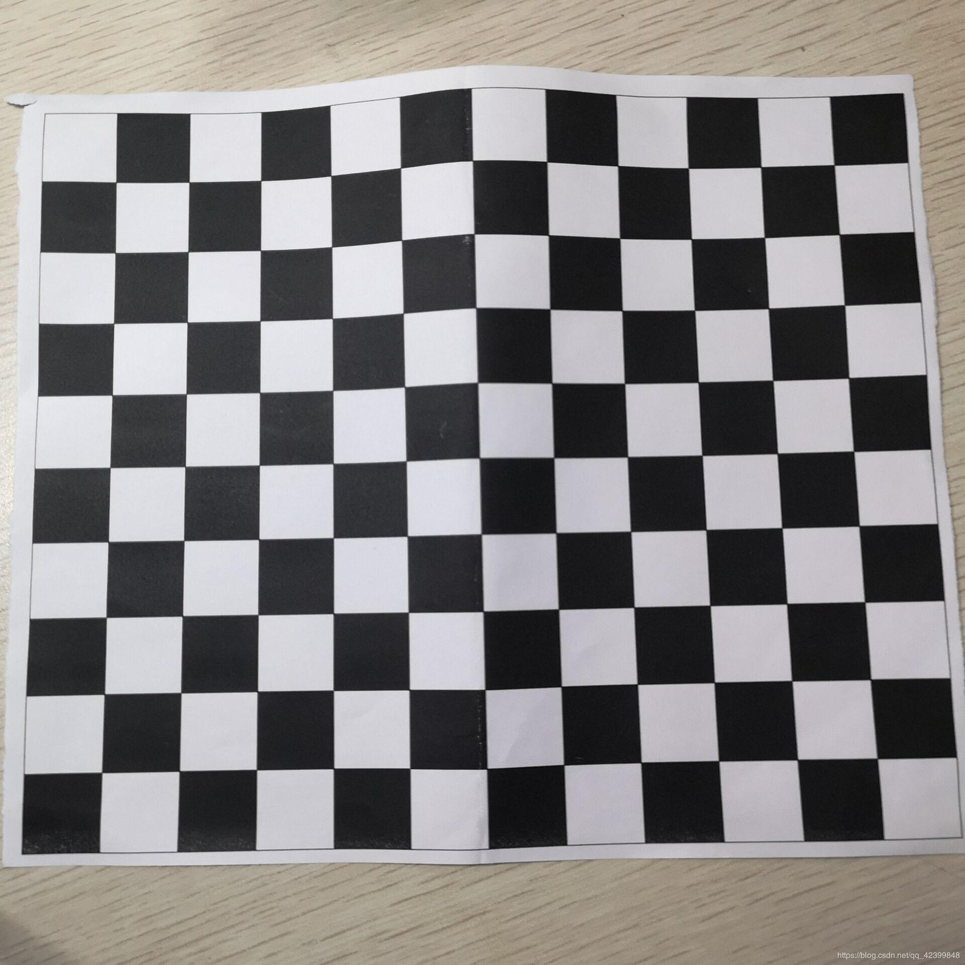 Camera Calibration Checkerboard Size