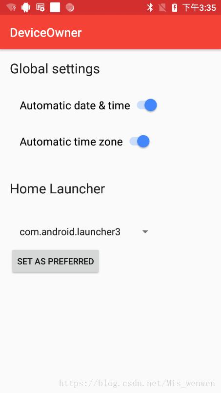 Android O device owner&