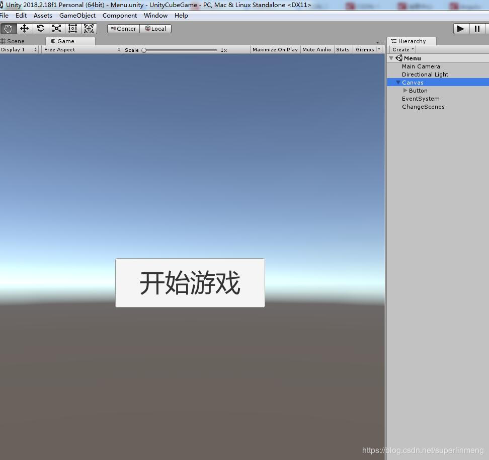Unity3D Getting Started Demo-Cube Move - Trigger Sphere