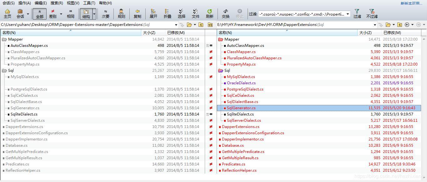 ORM-Dapper+DapperExtensions - Programmer Sought