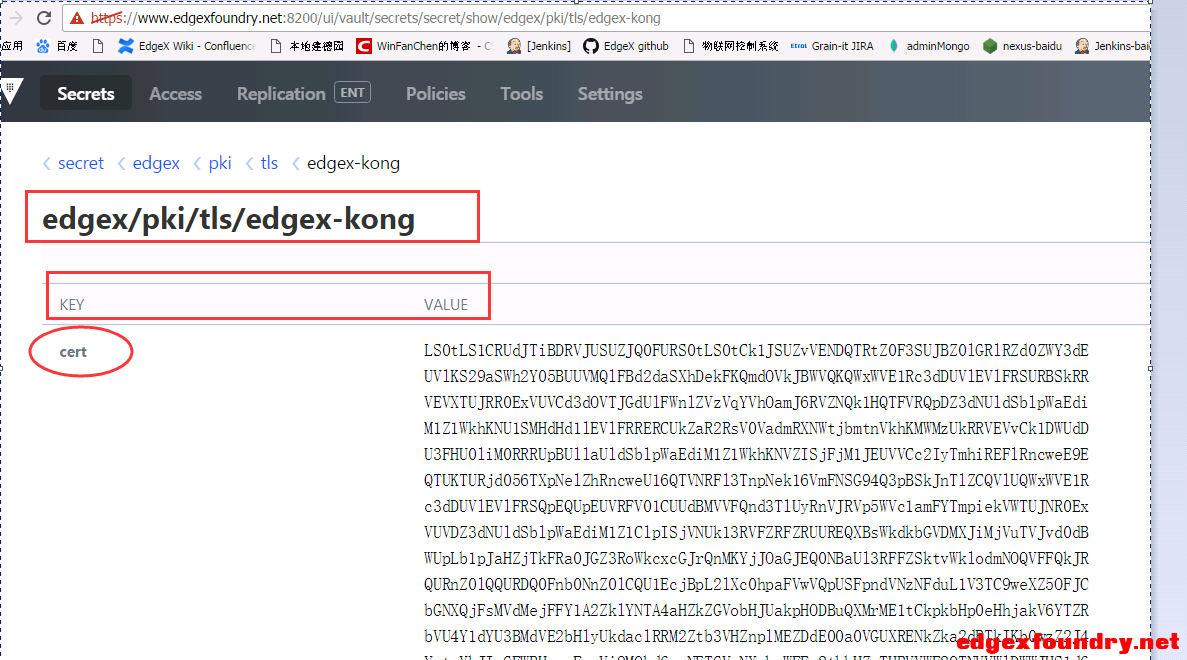 Edgexfoundry security module implementation detailed vault kong ...
