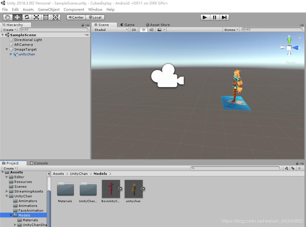 Vuforia and unity combined - Programmer Sought