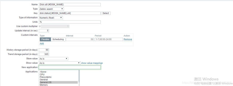 Zabbix automatically discovers disk io util monitoring - Programmer