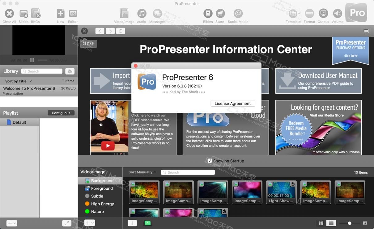 ProPresenter 6 for Mac crack version permanent activation