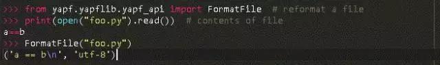 Google's Python code formatting tool: YAPF - Programmer Sought