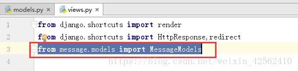 Django connection mysql database method and basic additions