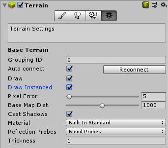 Unity 2018 3 0 terrain optimization and new features - Programmer Sought