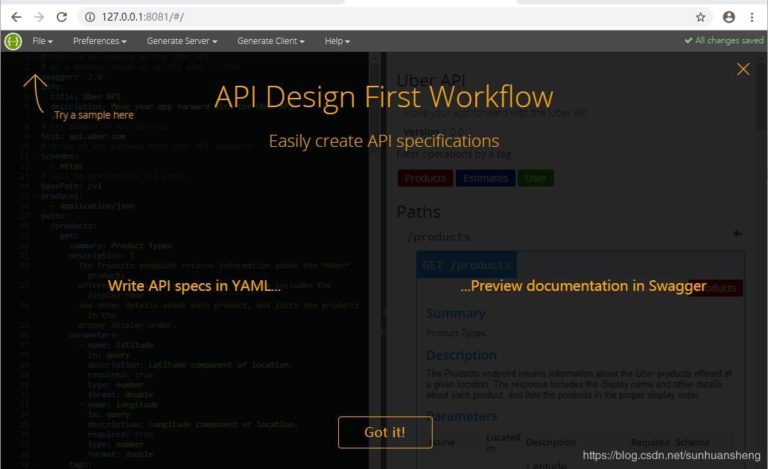 Swagger-Editor localization deployment (Swagger-API design