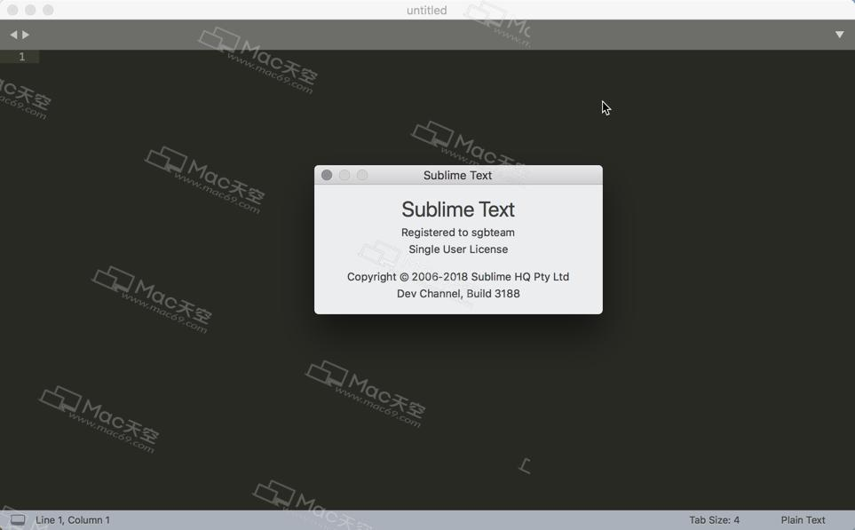 Advanced code editor] sublime text 3 Mac Chinese version
