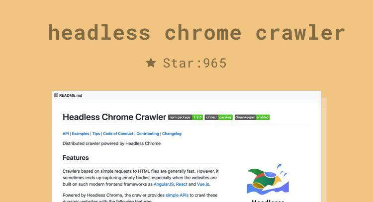 Recommend a few crawling libraries worthy of attention