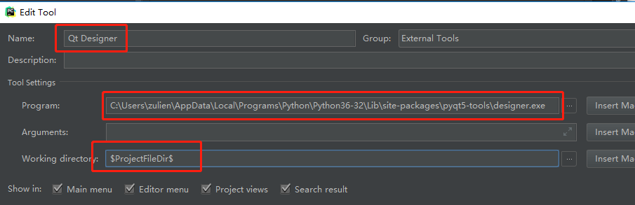 python 3.6 pyqt5 to exe
