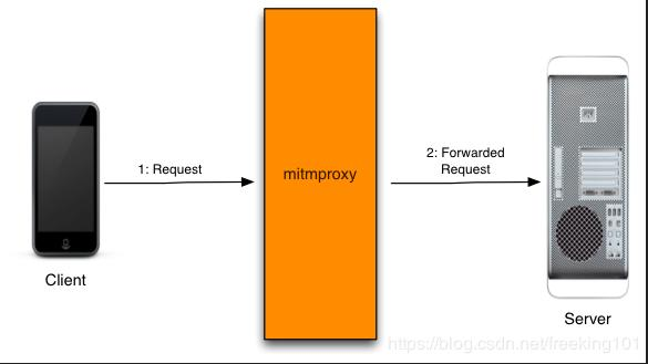 Use mitmproxy + python as the interception agent (with the