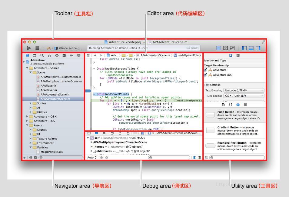 Basic use of Xcode editor (1) - Programmer Sought