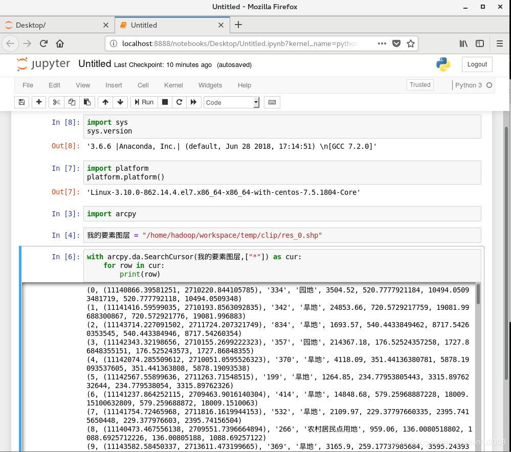 Anaconda 3 and arcpy work together under Linux system - Programmer