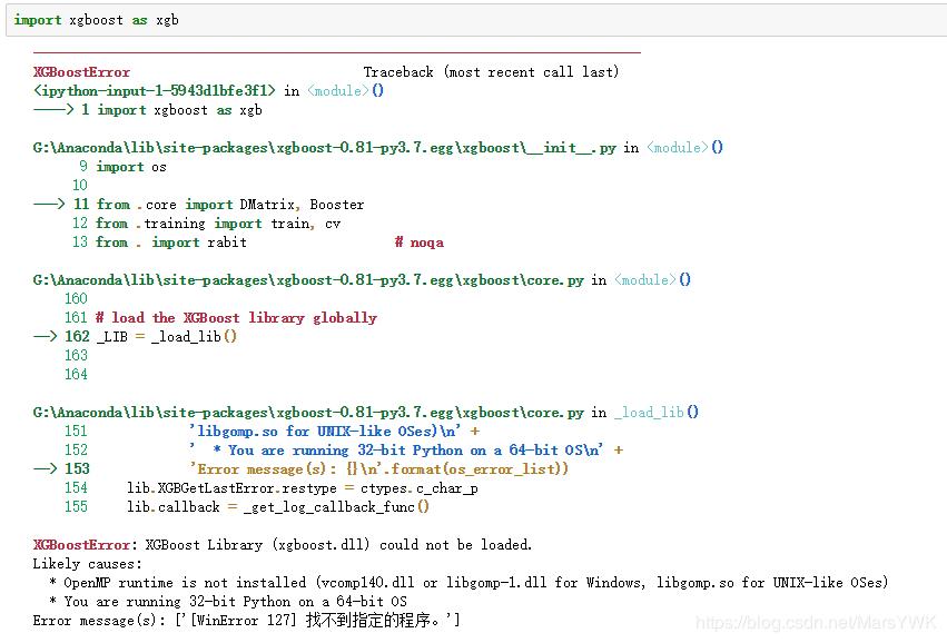 Windows installation xgboost (fill pit) - Programmer Sought