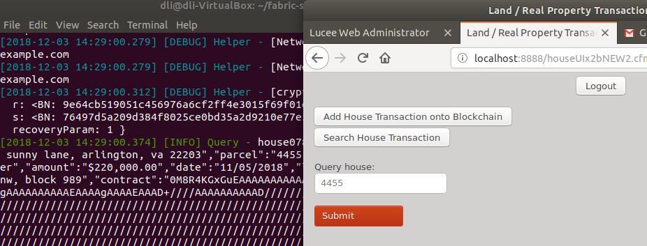 Hyperledger Fabric builds blockchain PoC application for