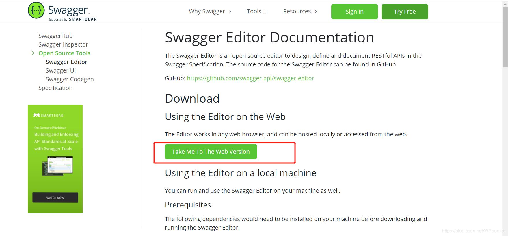 Swagger small summary - Programmer Sought