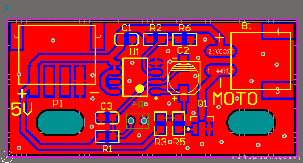 PCB stamp hole puzzle board AD software production ...