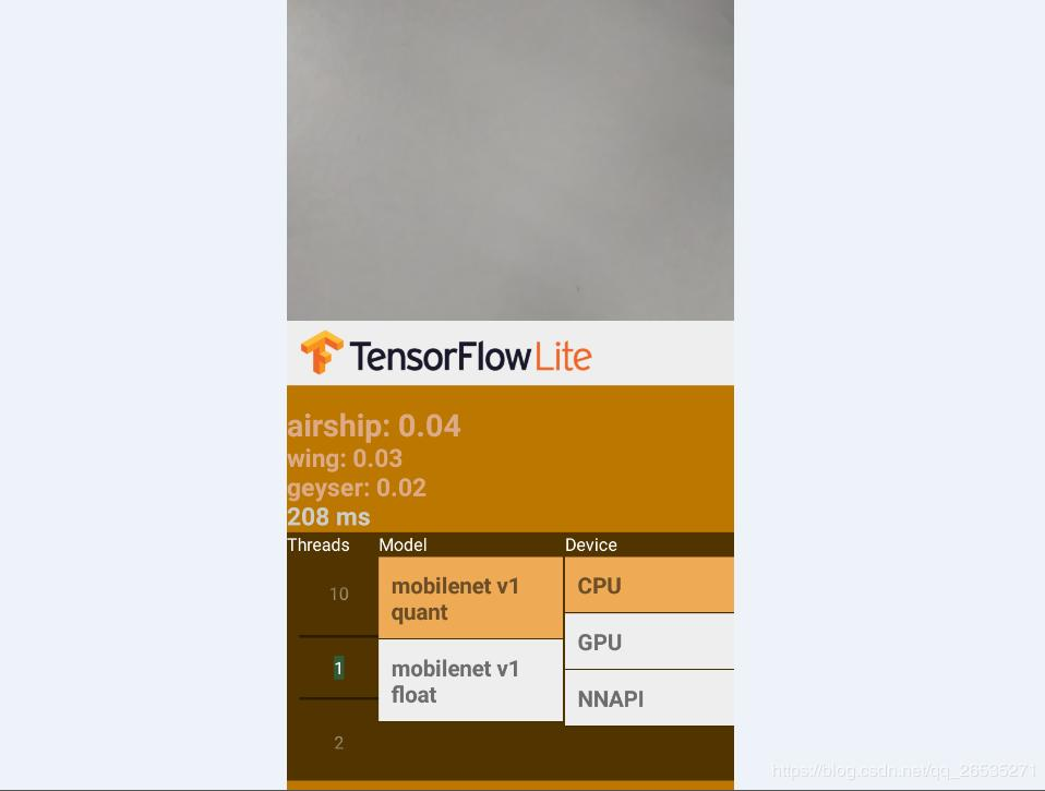 Tensorflow Lite GPU is implemented on Android - Programmer Sought