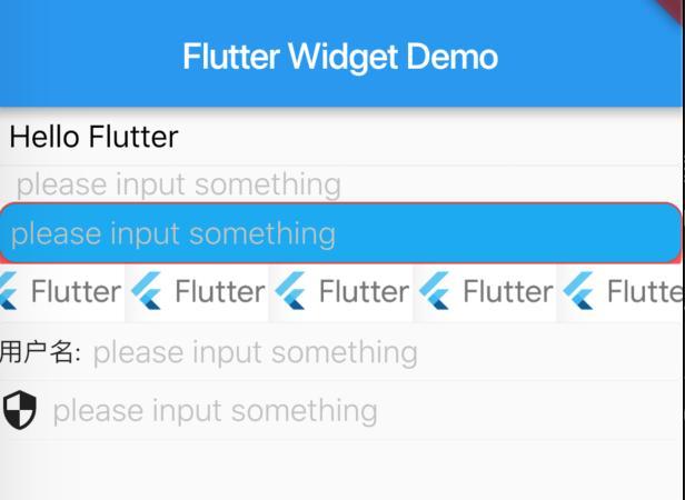 Flutter commonly used Widget (1) - Programmer Sought
