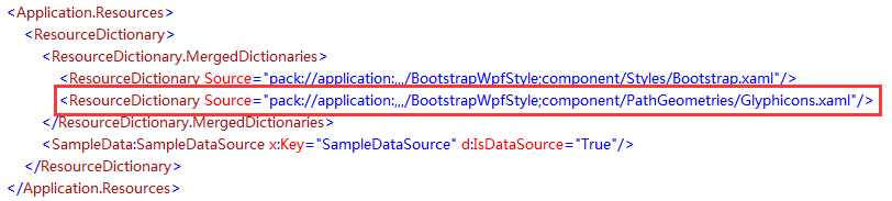 Bootstrap WPF Style (2)--Glyphicons font icon - Programmer Sought