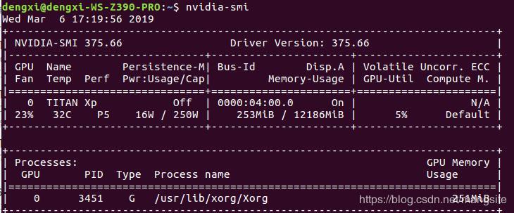 Ubuntu16 04 install NVIDIA driver configuration Caffe tutorial