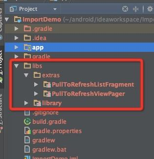 Android Studio Gradle project to import third-party source