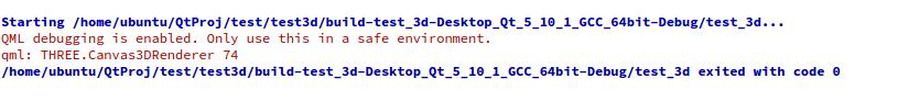 QT learning] Create a new 3D qml example in QT, and report