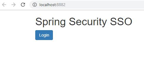 Spring Security Oauth2 single sign-on case implementation and
