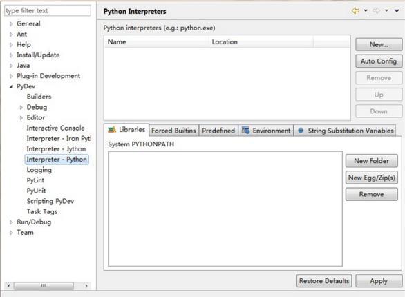 Eclipse configuration python development environment - Programmer Sought