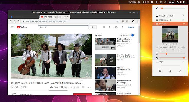 Add a YouTube player control to your Linux desktop using Chrome