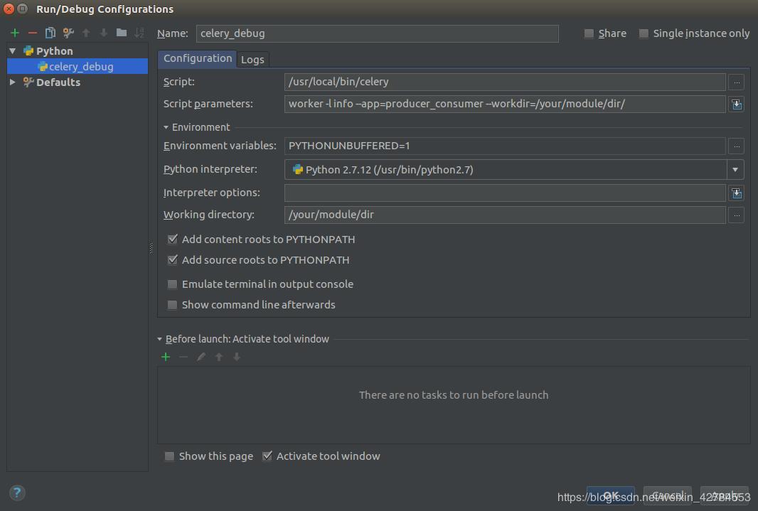 Python remote debugging and celery debugging - Programmer Sought
