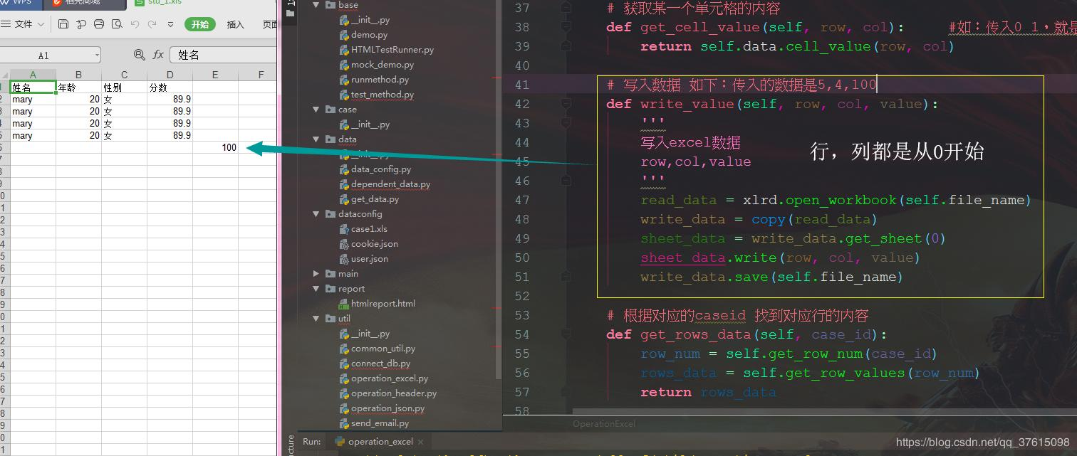 Python fuck xls - Programmer Sought