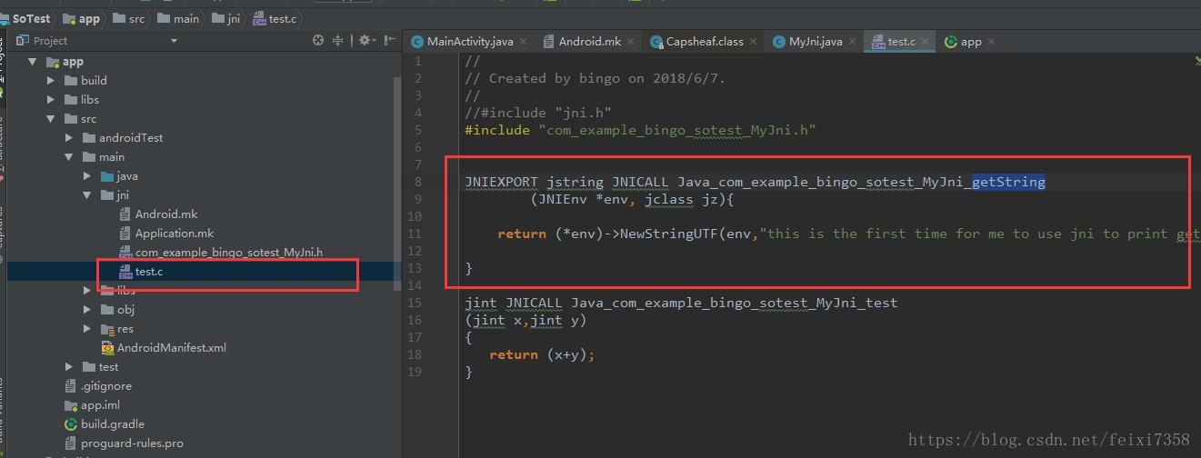 Packaging and use of so and jar files in Android Studio