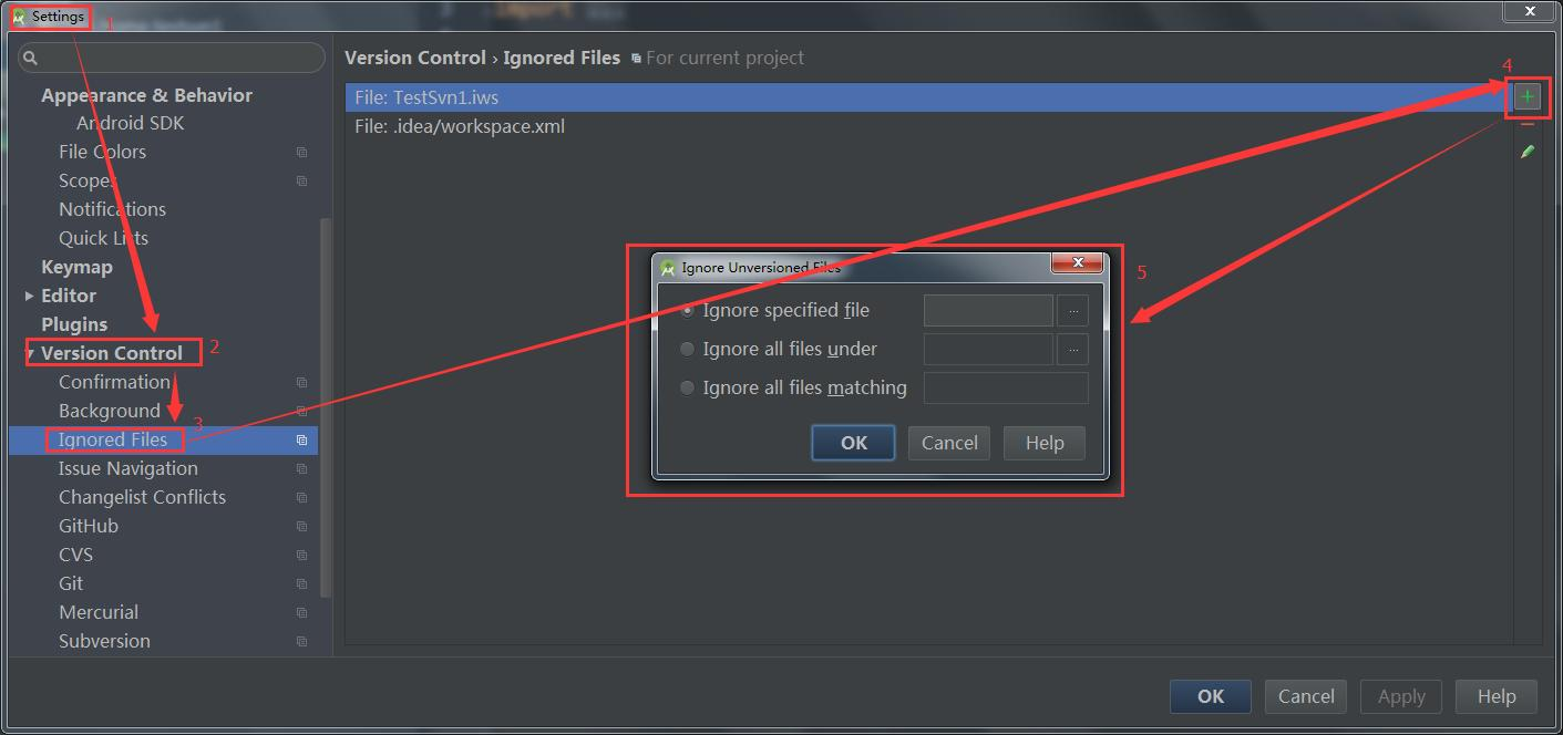 Android studio submits project code using SVN - Programmer