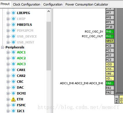STM32 f407 3ADC alternates with 7 2Msps sampling rate - Programmer