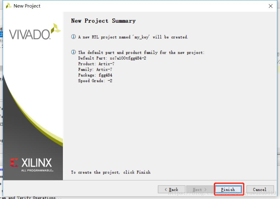 Implementation of the Xilinx Artix-7 FPGA DEMO project and
