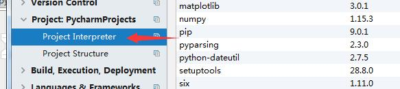 How to import third-party libraries in pycharm (numpy, pip