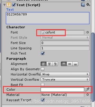 Unity custom font implementation - Programmer Sought