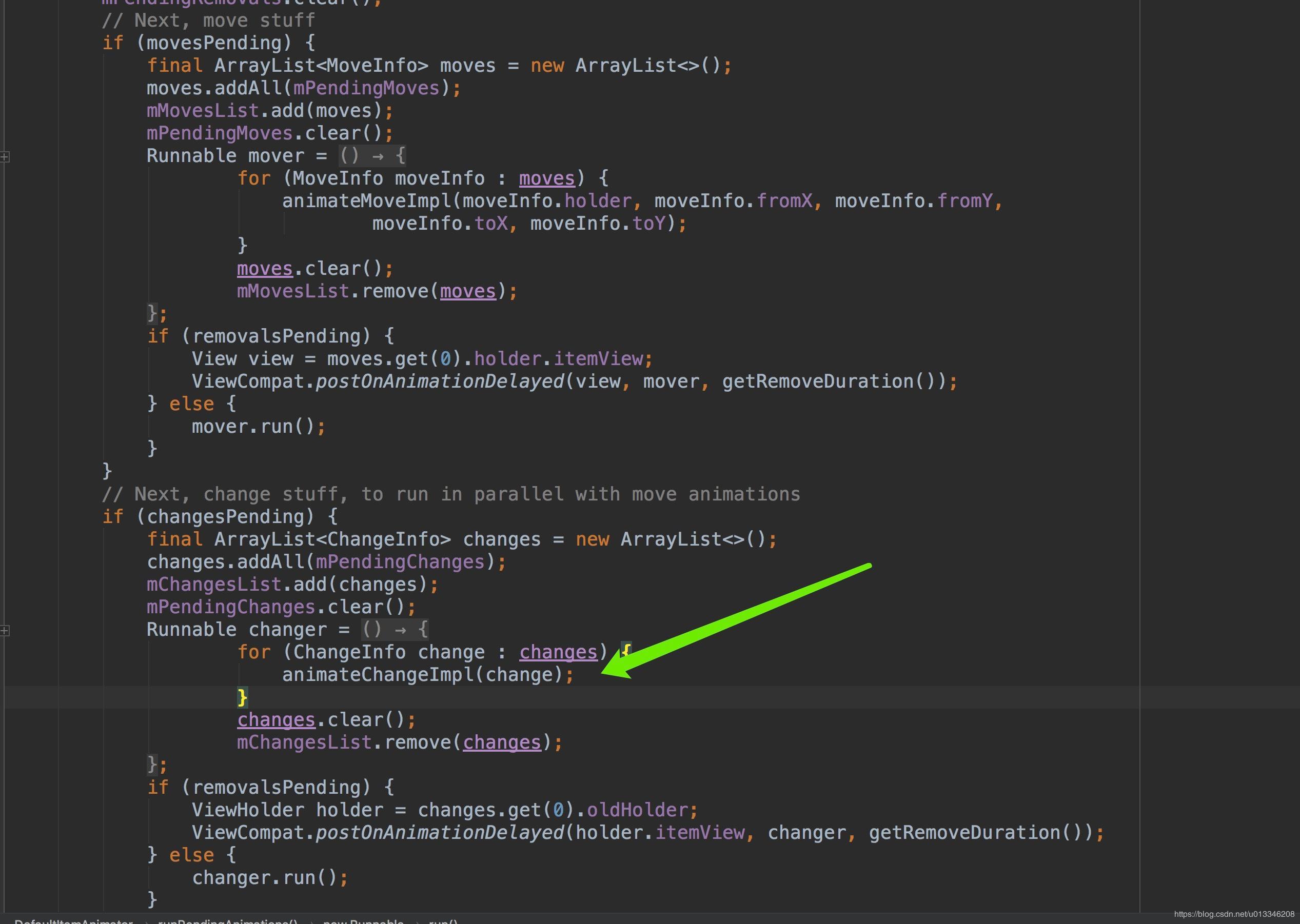 RecyclerView refresh flicker problem - Programmer Sought
