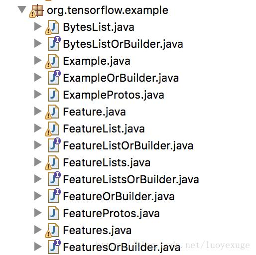 Java generated tfrecord file - Programmer Sought