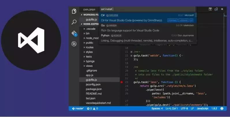 Visual Studio Code 1 32 0 x86/x64 Web and Cloud Application