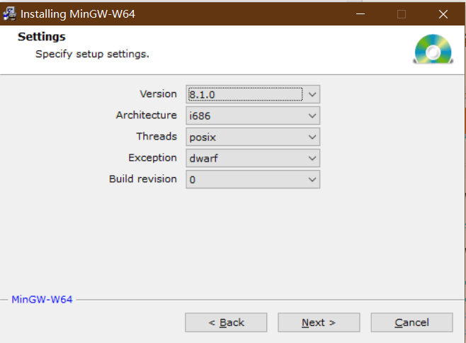 Mingw-w64 installation and use under win10 - Programmer Sought