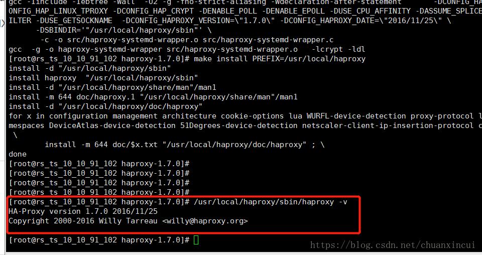 Haproxy load balancing rabbitmq message queue cluster