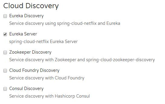 Implementing microservices with Spring Cloud (1): Eureka server