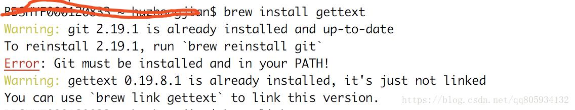 Install git under mac and problems encountered - Programmer
