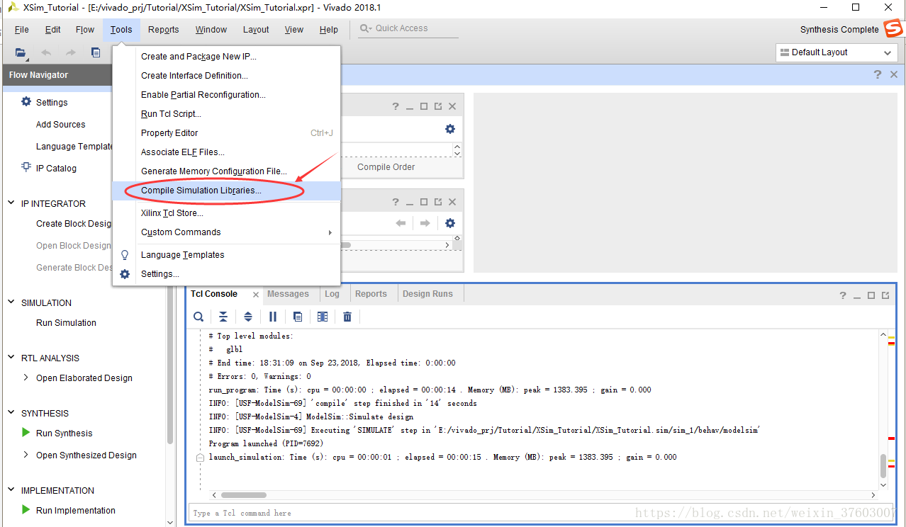Co-simulation of vivado and modelsim - Programmer Sought